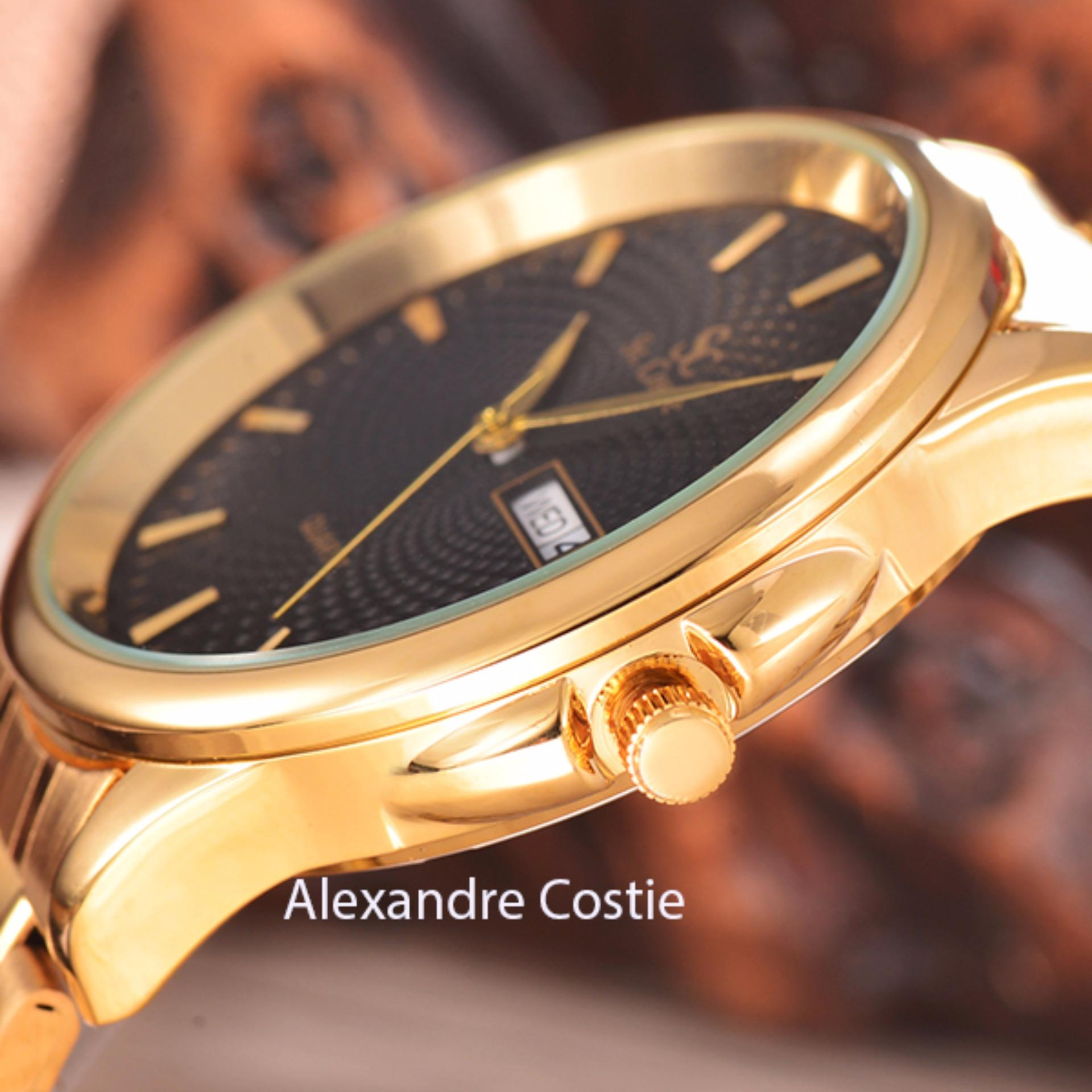 ... silver gold gold dial stainless stell band. Source · Saint Costie Original Brand, Jam Tangan Pria - Body Gold - Black .