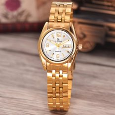 Saint Costie Original Brand-Jam Tangan Wanita-Body gold-White dial-Stainless