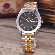 Saint Costie Original Brand Jam Tangan Wanita Body Silver Gold Black Dial .