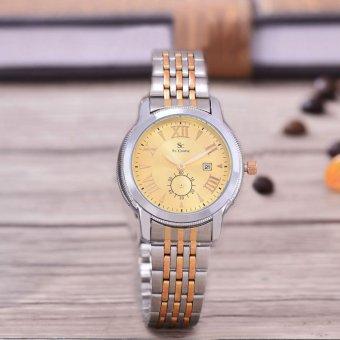 Saint Costie Original Brand, Jam Tangan Wanita - Body Silver/Gold - Gold Dial