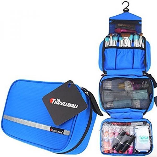 Samtour Portable Toiletry Bag/Tas Makeup/Kosmetik Organizer/Travel Aksesoris Kosmetik Tas Penyimpanan