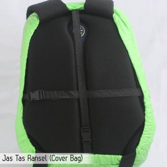 Sarung Jas Hujan / Backpack Cover / Tutup Tas Ransel Anti Air Waterproof
