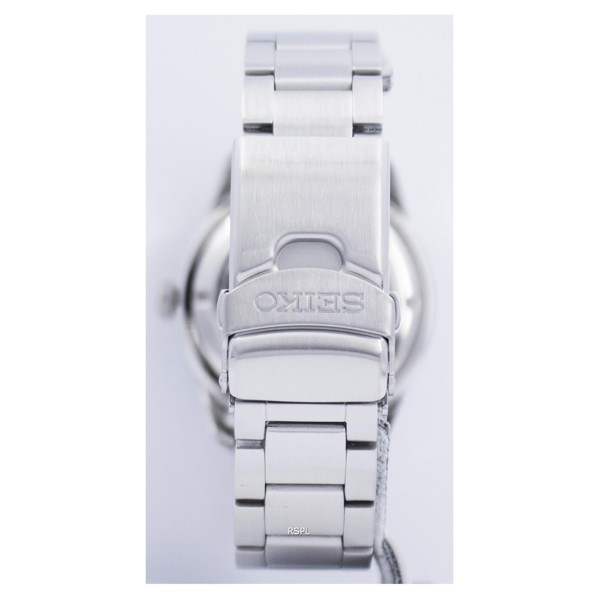 Seiko 5 Jam Tangan Pria Snzj39k1 Automatic Stainless Steel Silver Chronograph Strap Sks521p1 Stell Ssb175p1