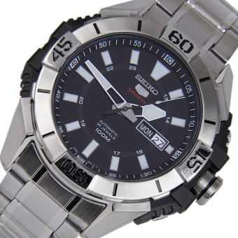 SEIKO 5 Sports Automatic 24 jewels Jam Tangan Pria SRP793K1 -Stainless Steel - Silver - 2