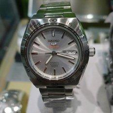 Seiko 5 Sports SRP239K1 Automati Full Silver - Jam Tangan Pria SRP239