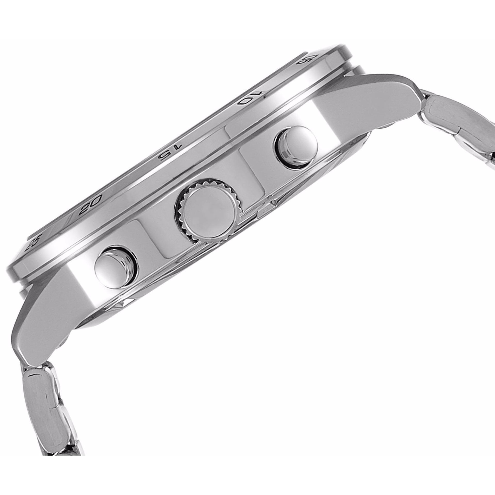 Seiko Chronograph Jam Tangan Pria Tali Stainless Steel Sks515p1 Strap Silver Sks521p1 Stell