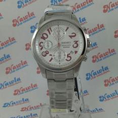 Seiko Ladies SNDX13P1 Chrono Purple Numerical Hours  Jam Wanita SNDX13