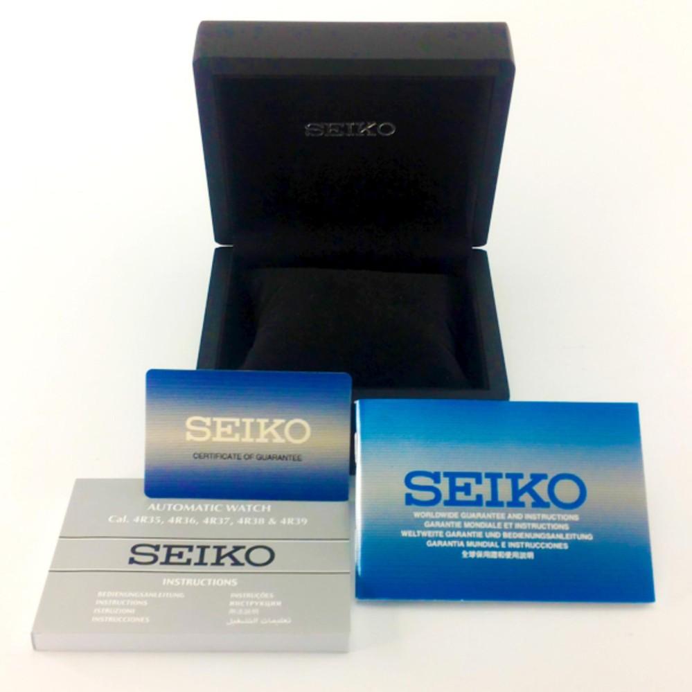 Seiko Presage Automatic Power Reserve Jam Tangan Tali Stainless Silver Ssa257j1 Steel Ssa255j1