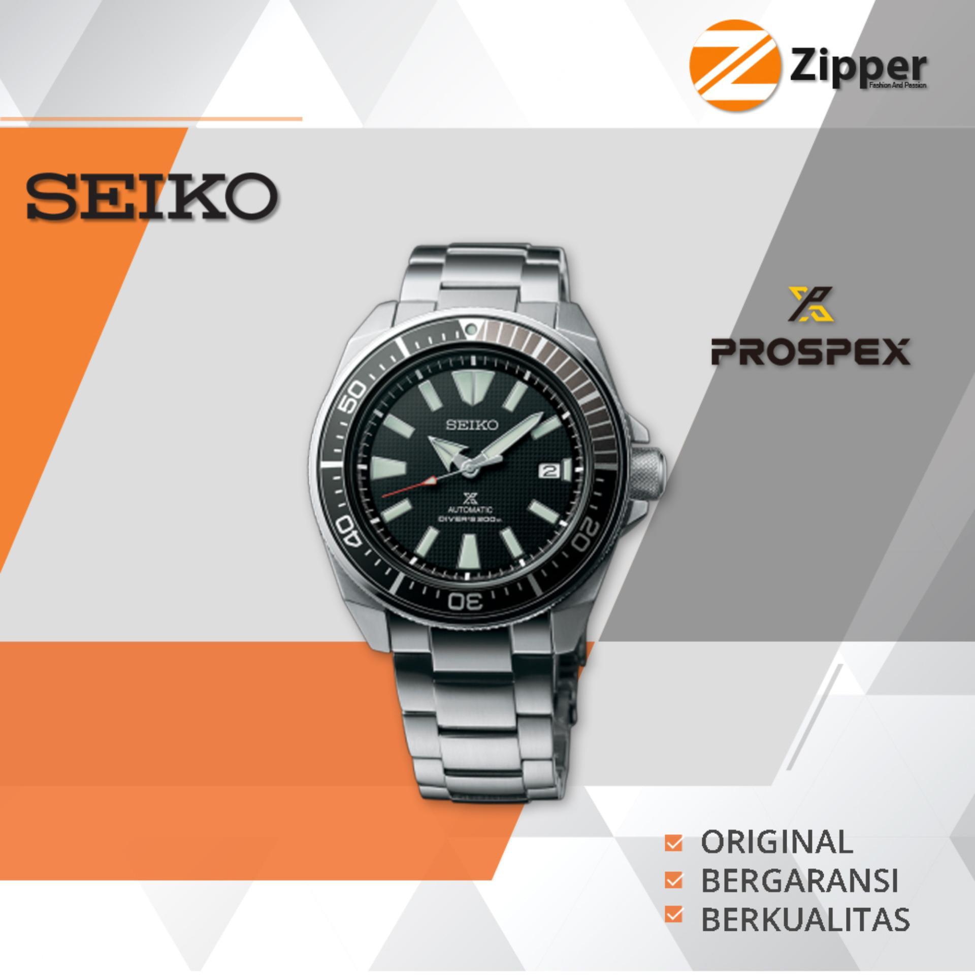 Seiko 5 Automatic Jam Tangan Starp Stainless Steel Silver Srpa07k1 Sna793p1 Pria Strap Blue Prospex Sea