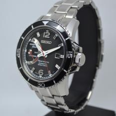 Seiko Sportura SRG019P1 Kinetic Direct Drive Black Dial  Jam Pria SRG019