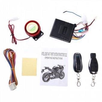 harga Sepeda motor anti pencurian dan keamanan sistem Alarm Remote Control mesin mulai 12 V anti-garis pemotongan Lazada.co.id