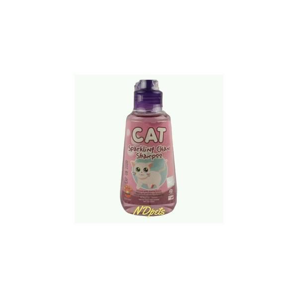 shampo kucing Sparkling ungu