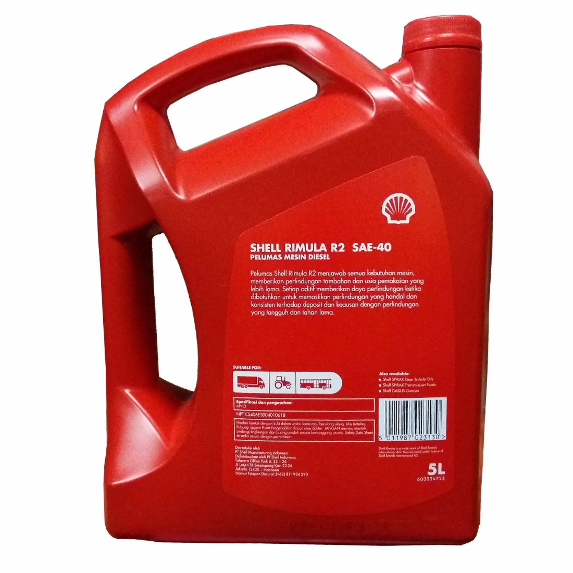 Pencarian Termurah Shell Rimula R2 Sae 40 Pelumas Oli Mesin Mobil Helix Ultra 5w Api Sn Cf Fully Synthetic Oil 4 Liter Diesel 5