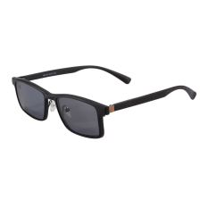 SHINU Magnetic Polarized Clip on Sunglasses with Optical Frame Prescription Myopia Lens Glasses Driving Dual Purpose