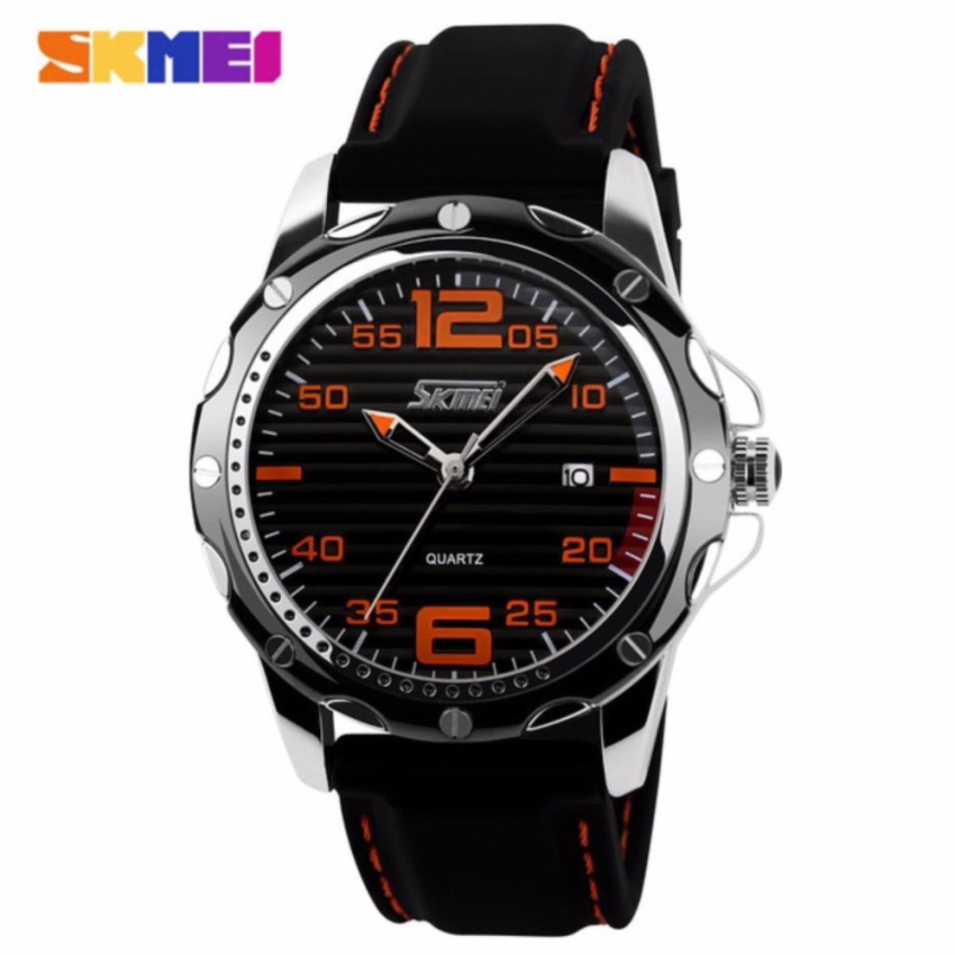 SKMEI 0992 Sport Quartz Men Casual Watch Calendar Date Work For Luxury Brand Dress Wristwatch