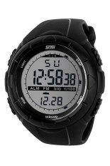 Skmei 1025 Digital Watch Sporty Watch - Hitam Kualitas Original Garansi 1 Bulan