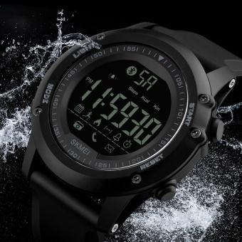 SKMEI Merek Pria Mode Sport Watches Chrono Countdown Pria Tahan Air Digital Tonton Man Militer Jam