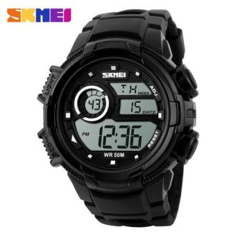SKMEI Jam Tangan Digital Pria - DG1113 - Black White