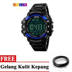 Rp 186.400. SKMEI Jam Tangan Olahraga Smartwatch Bluetooth - Black Blue ...