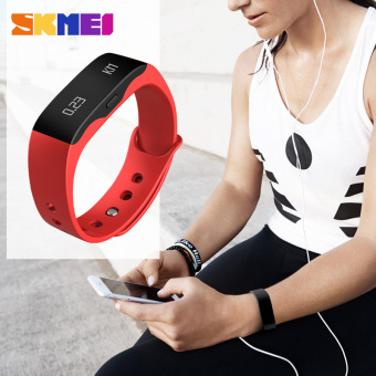 SKMEI Smart Sleep Tracker Watches Digital LED Display Wristwatches - 4