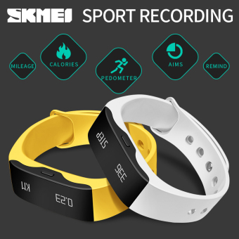 SKMEI Smart Sleep Tracker Watches Digital LED Display Wristwatches - 3