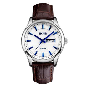 YBC 1 pasang jam tangan pasangan kreatif minimalis jam Analog kulit coklat - International. Source ... Arloji Kulit Band Perhiasan-Intl. Source · Harga ...