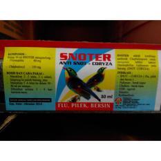 Snoter 30Ml - Obat Flu - Pilek - Bersin Burung