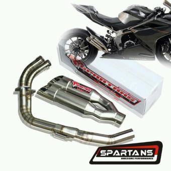 harga Spartans Double Silencer Knalpot Honda CBR250RR Lazada.co.id