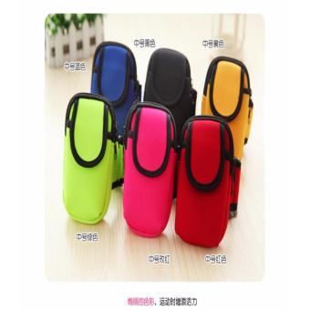 Sport Armbag / Armband HP , Tas Bag Lengan HP Colourful - 3