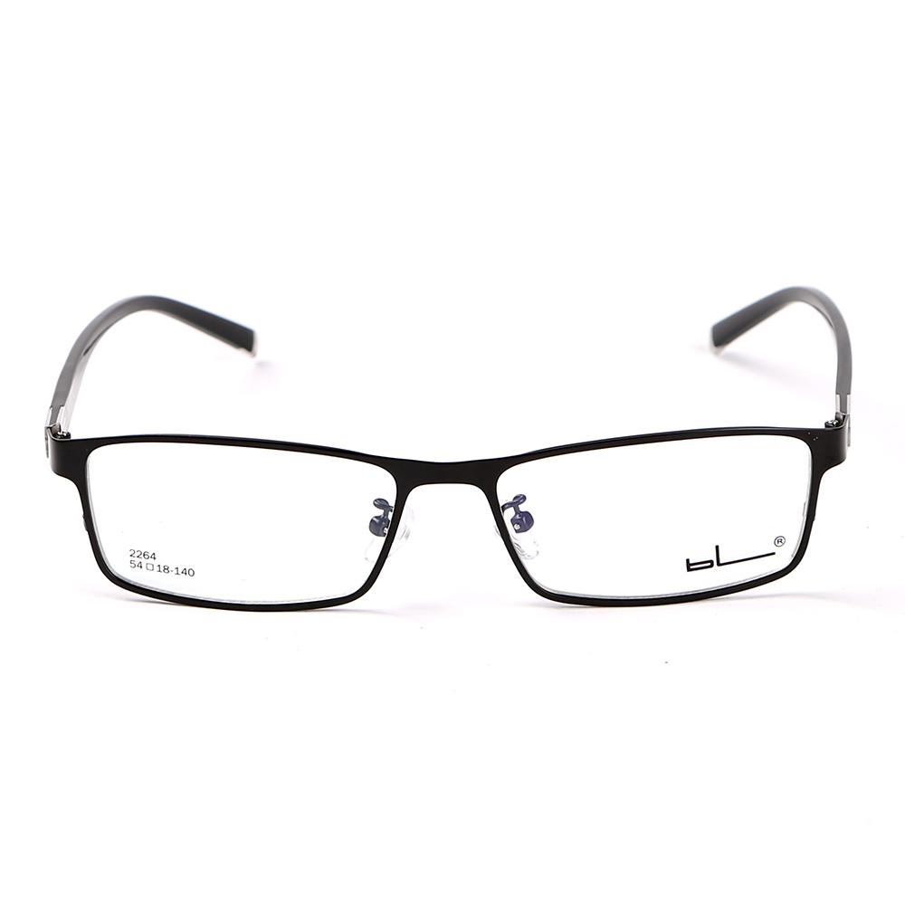 ... Stallane Fashion Optical Myopia Glasses Frame Alloy Spectacle Eyewear Full Rim Eyeglasses for Men (Black ...