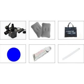 StarHome Kasur Angin Mobil - Matras Mobil Indoor Outdoor - Portable Car Mattress - Abu-abu (Tanpa Dus/Kotak) - 2