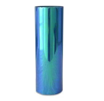 Stiker Headlamp bunglon - Biru ( size 50 x 30 cm