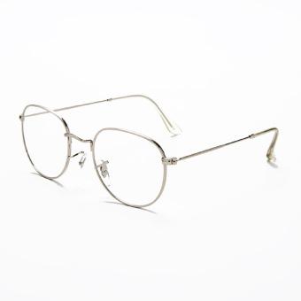 Style Retro Logam Kerangka Bulat Pria Dan Wanita Bingkai Kacamata Kaca Mata  Netral a0f9926ed6