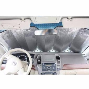 Detail Gambar Sun Shield / Pelindung Panas Dashboard Kaca Mobil dan Variasi Modelnya