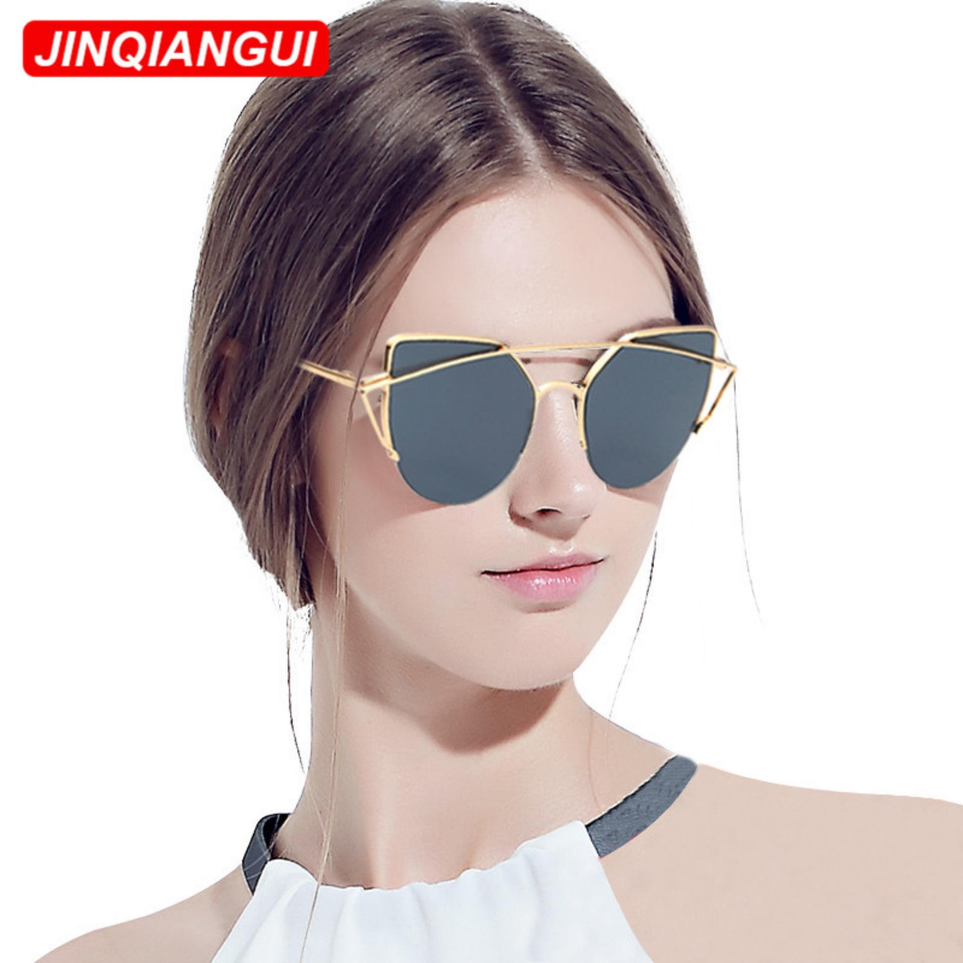 ... Sunglasses Women Cat Eye Retro GreyGold Color Polaroid LensTitanium Frame Driver Sunglasses Brand Design Original Box ...