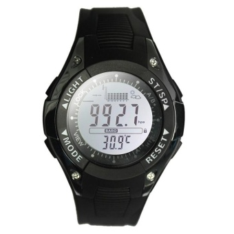 SUNROAD FX702A Multifunctional Digital Sports Watch Altimeter Fishing Barometer Wristwatch 30M Water Resistance - intl - 2