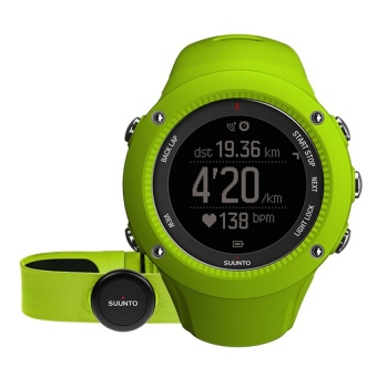 Suunto Ambit3 Run Lime HR SS021261000(Multicolor) intl