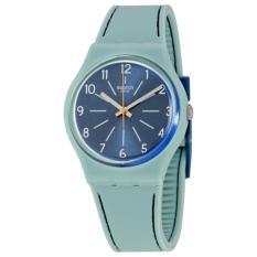 Swatch - Jam Tangan Wanita - Light Blue-Blue - Rubber Light Blue - GM184