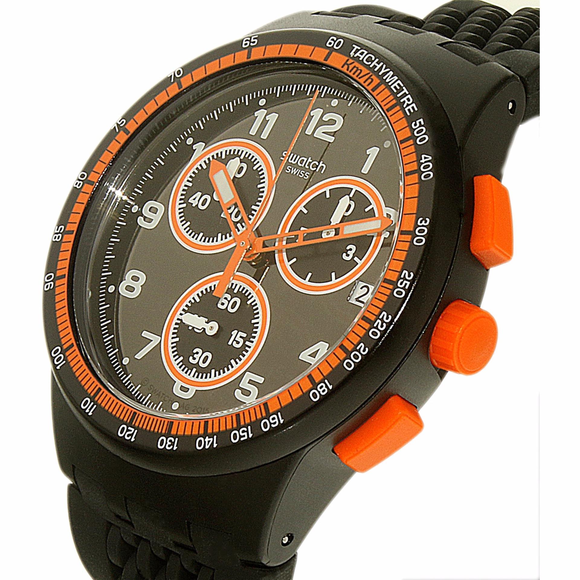 Swatch Jam Tangan Pria Hitam Emas Strap Suob126 Seeing Circles Original 100  Yvs424 Disorderly Chrono Susb408 Nerolino Bahan Tali Silikon