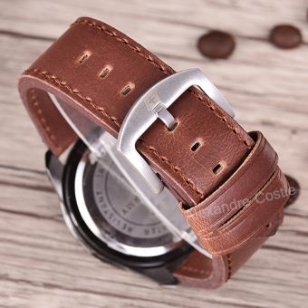 Swiss Army - Jam Tangan Pria - Body Rose Gold- Black Dial .