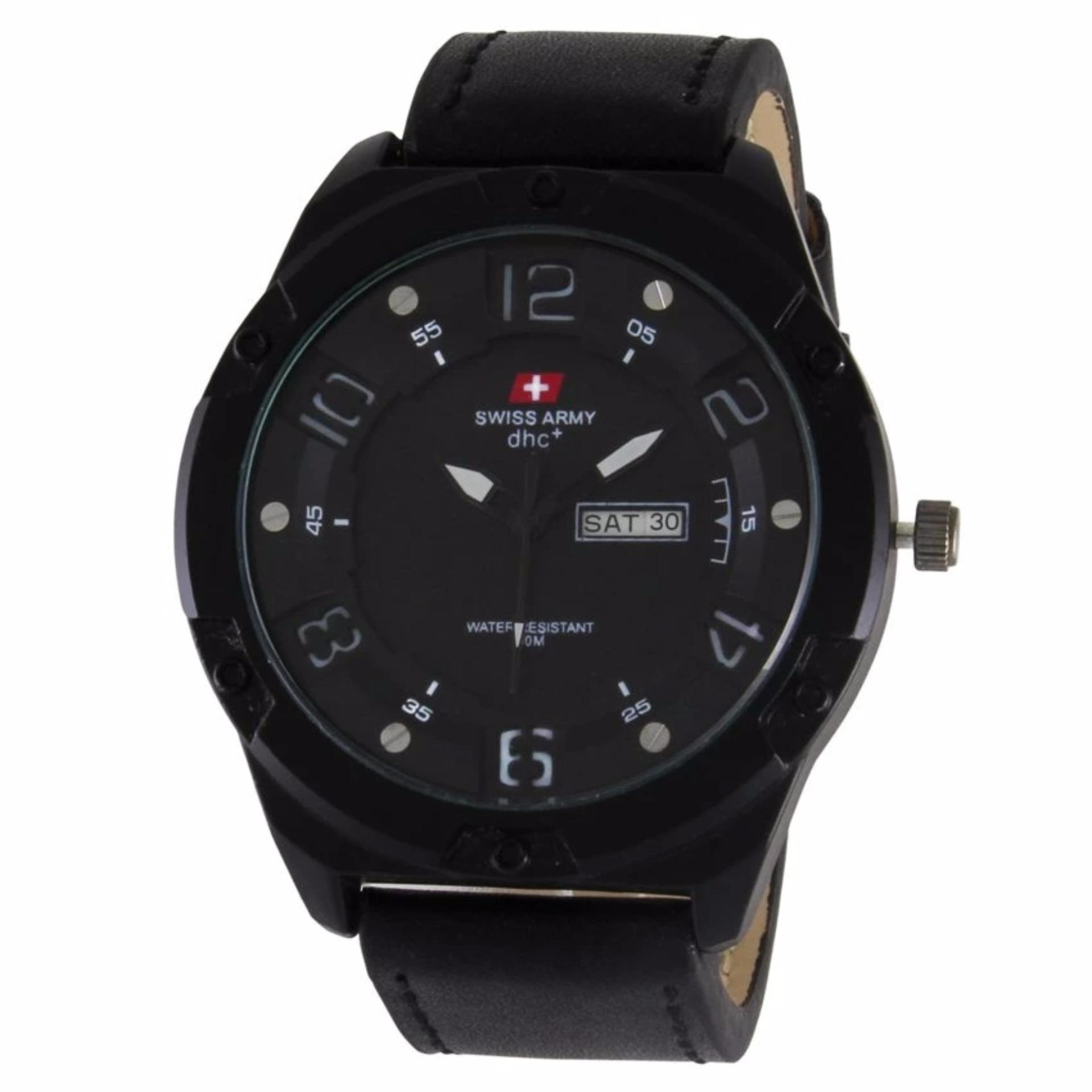 ... Swiss Army Sa205 Jam Tangan Kasual Pria Leather Strap Chronograph Guess U0701l1 Women Dressy Jewelry Inspired