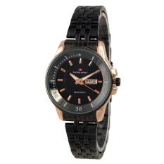 Swiss Army Ladies Elegant Jam tangan wanita - Hitam - Stainless - SA 0967 L BLGOLD