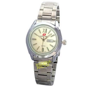 Swiss Army - SA0103 - Jam Tangan Wanita - Stainless Steel - Silver