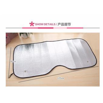 Tabir Surya Aluminum Foil untuk Mobil - 2