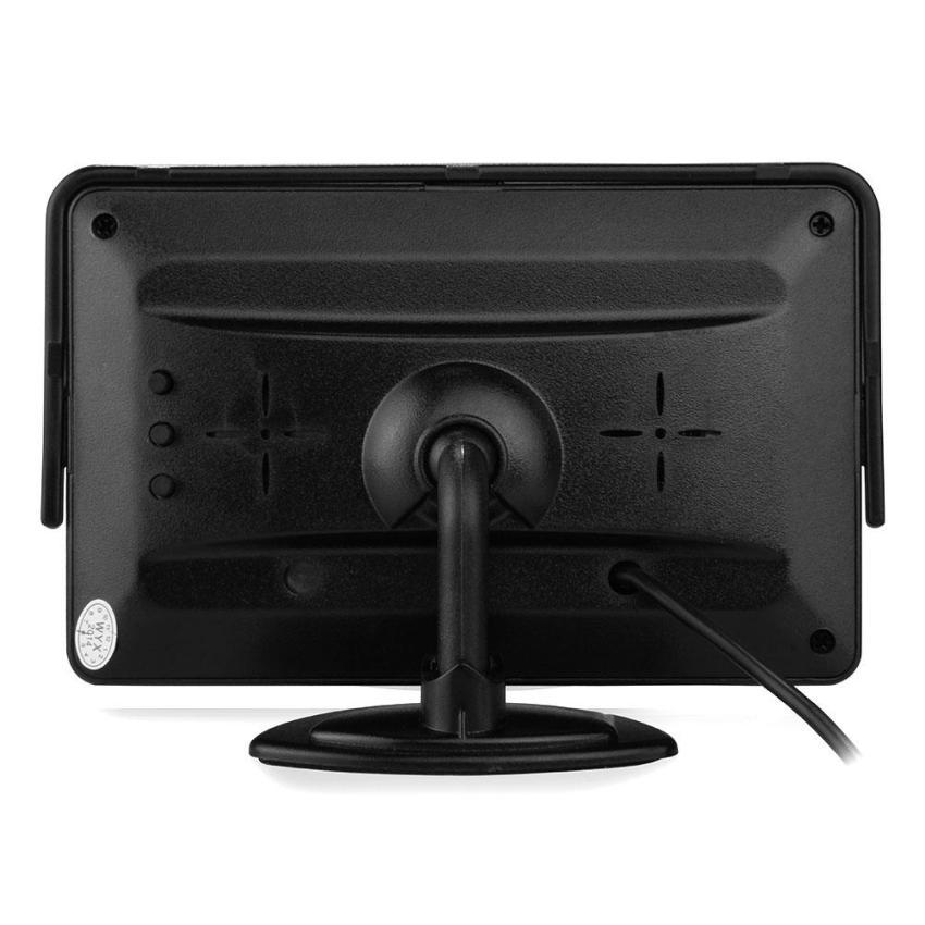 Tampilan Belakang Mobil LCD TFT Layar Monitor Terbalik + Pemancar Nirkabel + 7 .