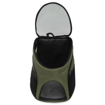 ... Tas Pembawa Motif Tentara Luar Ruangan Untuk Perjalanan, Olahraga Bahu Ransel Ganda Untuk Anak Anjing ...
