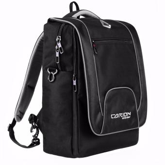 Tas Ransel Hitam Laptop Free Raincover Laptop Bag unisex 33007