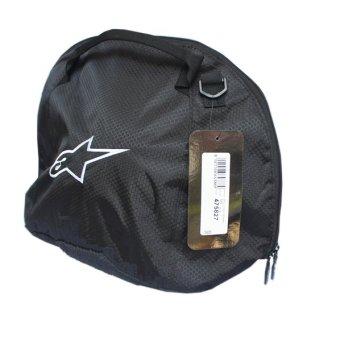 Tas Tempat Helm Helmet Cover Bag Selempang Samping Sepeda MotorTouring Tour Biker Bike