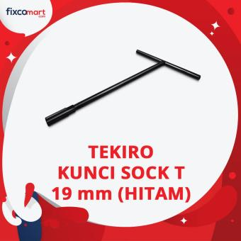 Tekiro T Type Wrench / Kunci Sock T Hitam 19 mm