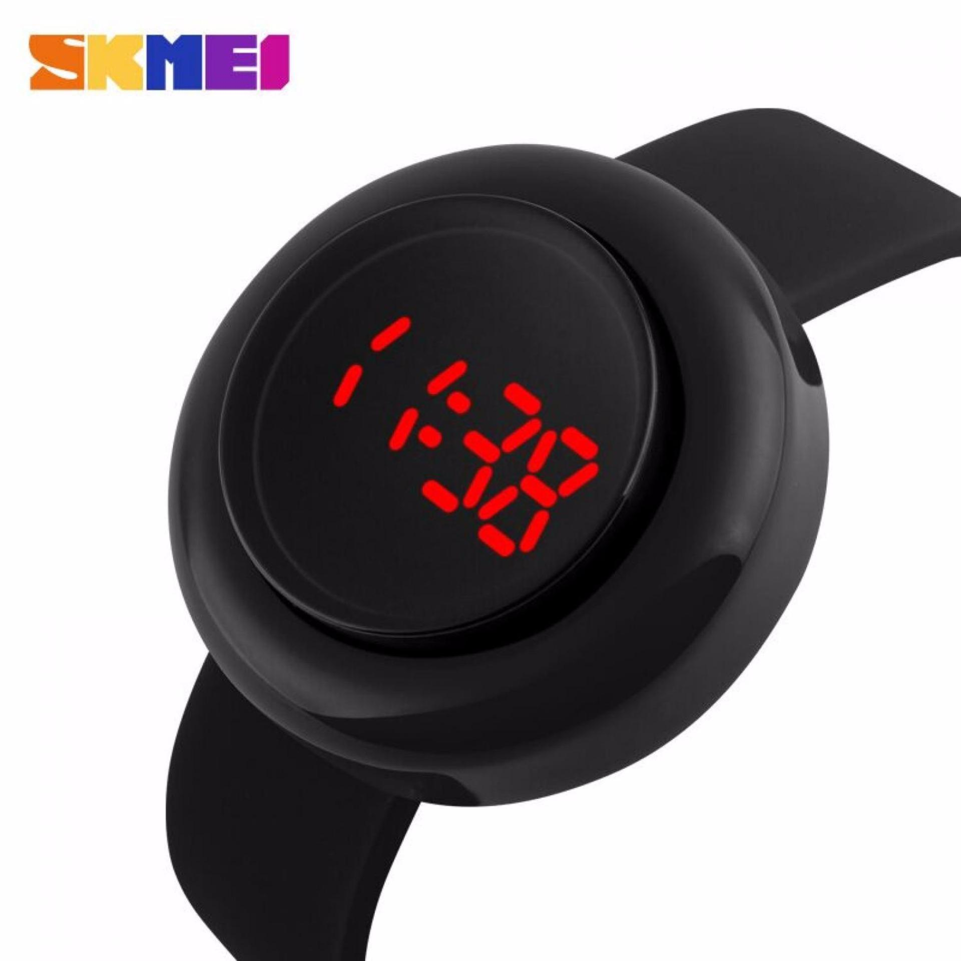 Skmei Casual Unisex Watch Water Resistant 30m - 1138a - Black Hitam ...